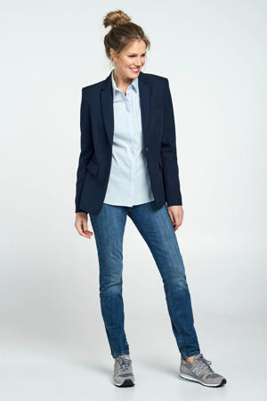 blazer blauw