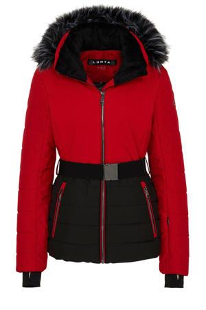 ski-jack Jaalanka rood/zwart