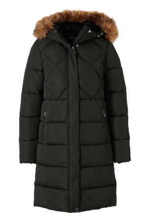 winterjas Kulosaari zwart