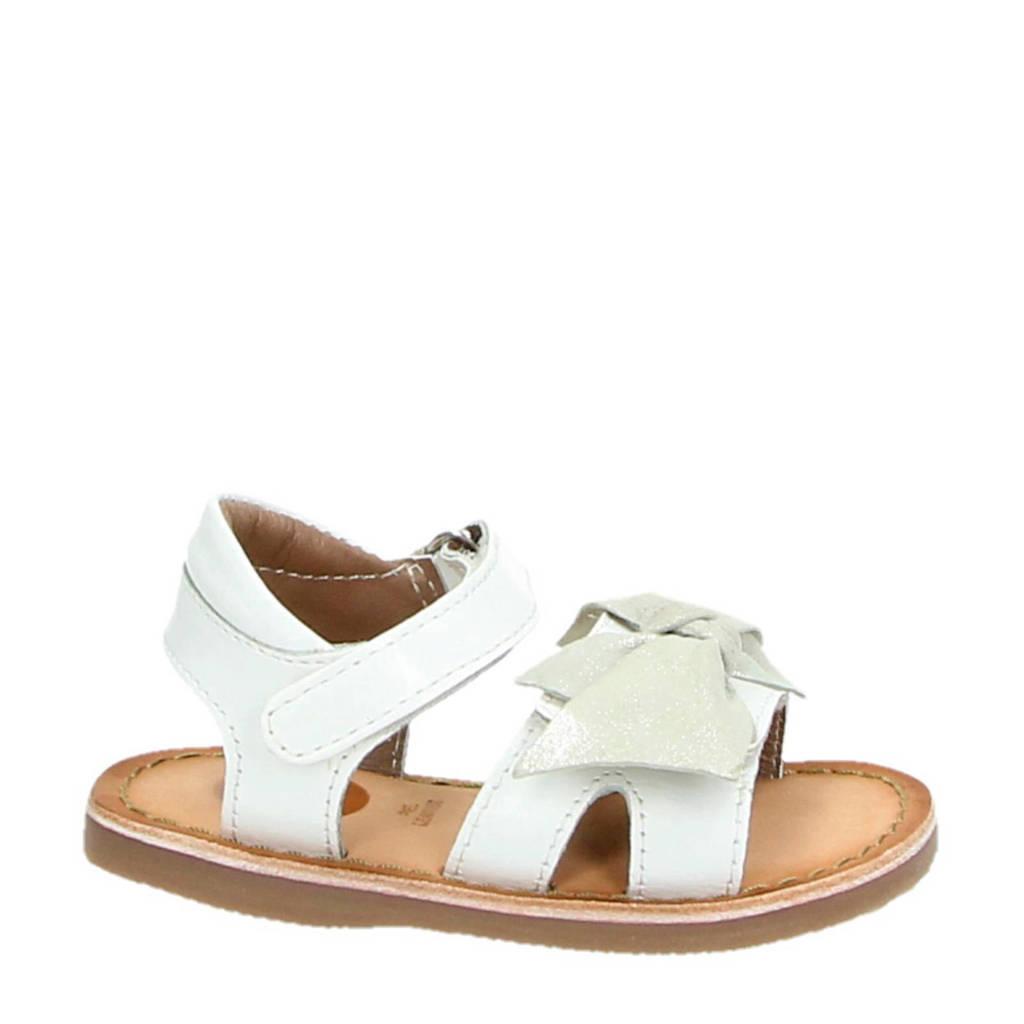 Gioseppo Utrecht leren sandalen wit, Wit