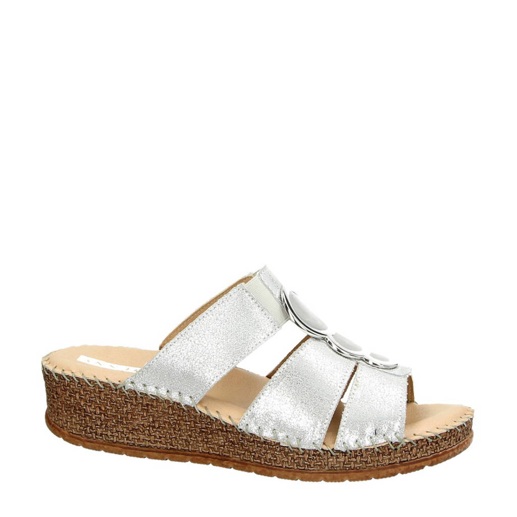 Jenny by Ara slippers zilver, Zilver