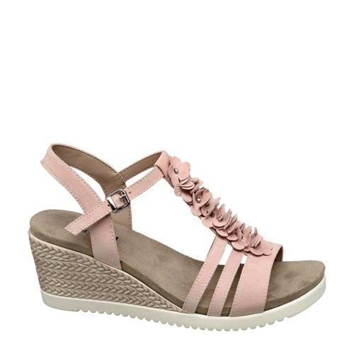 Graceland sandalettes roze