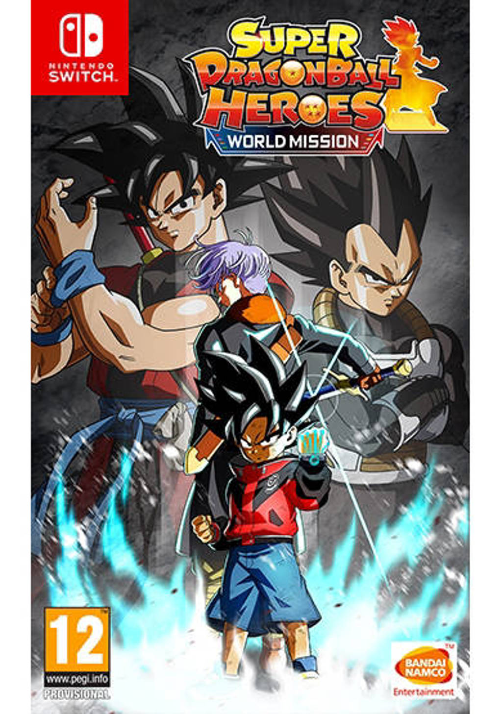 Super dragon ball heroes - World mission (Nintendo Switch)