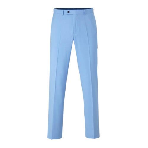 C&A Angelo Litrico gemêleerde slim fit pantalon lichtblauw