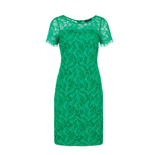 Claudia Sträter A-lijn jurk met kant kopen
