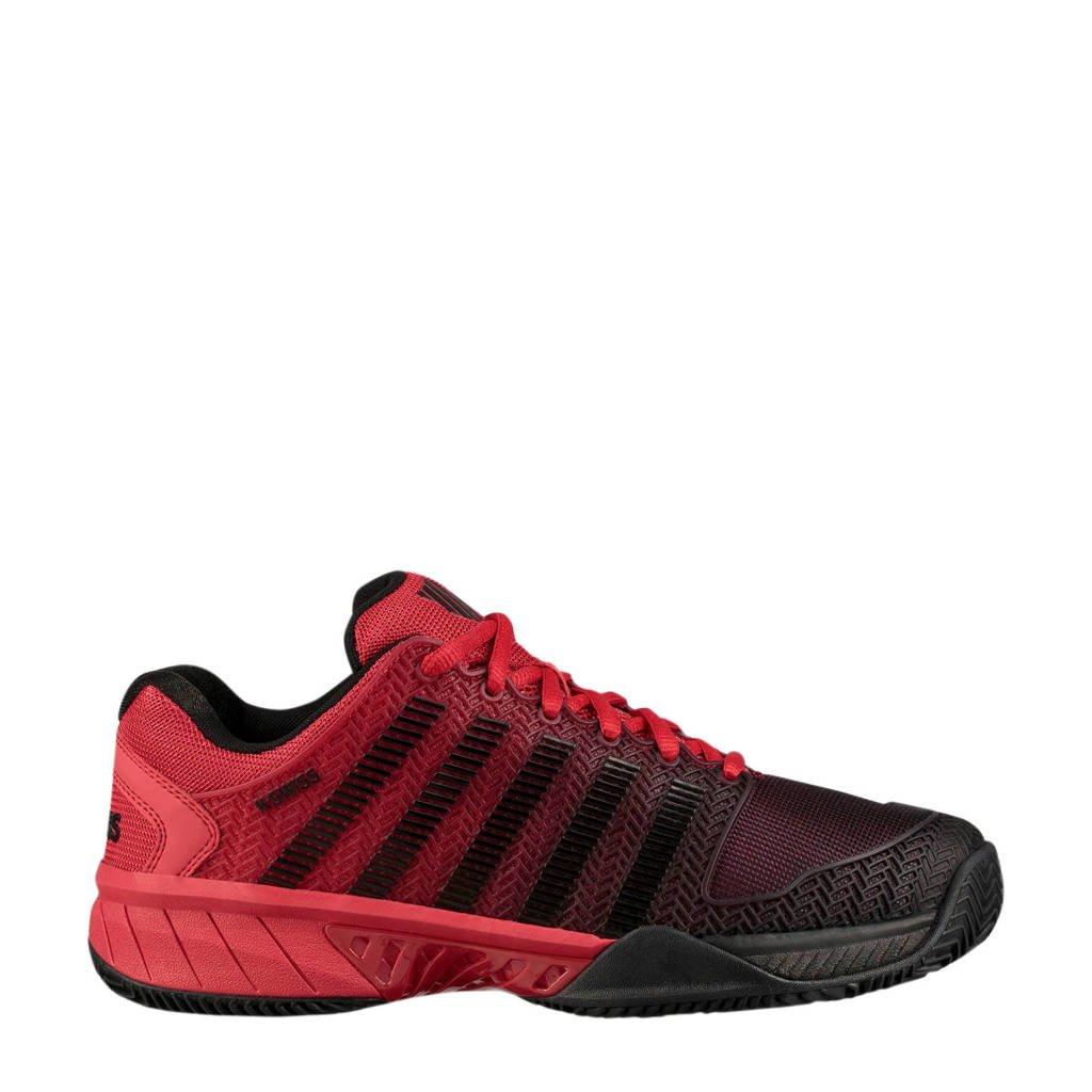 K-Swiss   TFW Hypercourt Express HB tennisschoenen, Zwart/rood