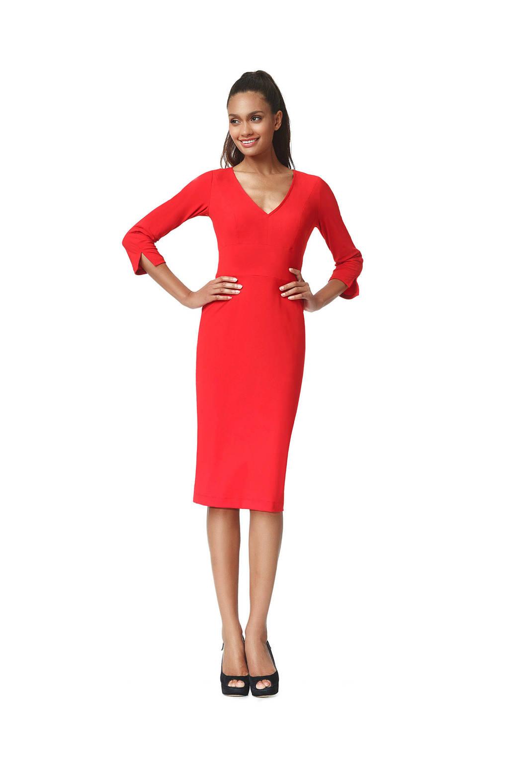 LaDress jurk rood, Rood