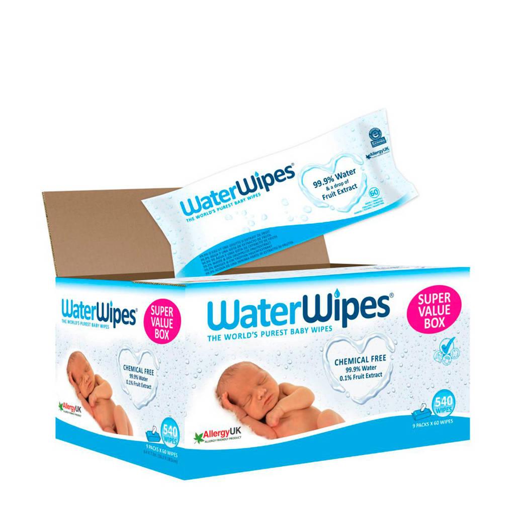 WaterWipes babydoekjes 9x60 stuks