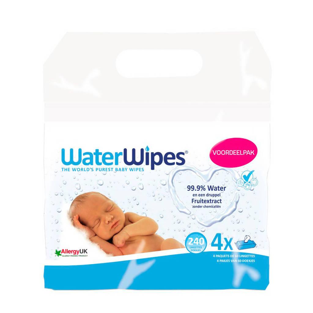 WaterWipes babydoekjes 4x60 stuks
