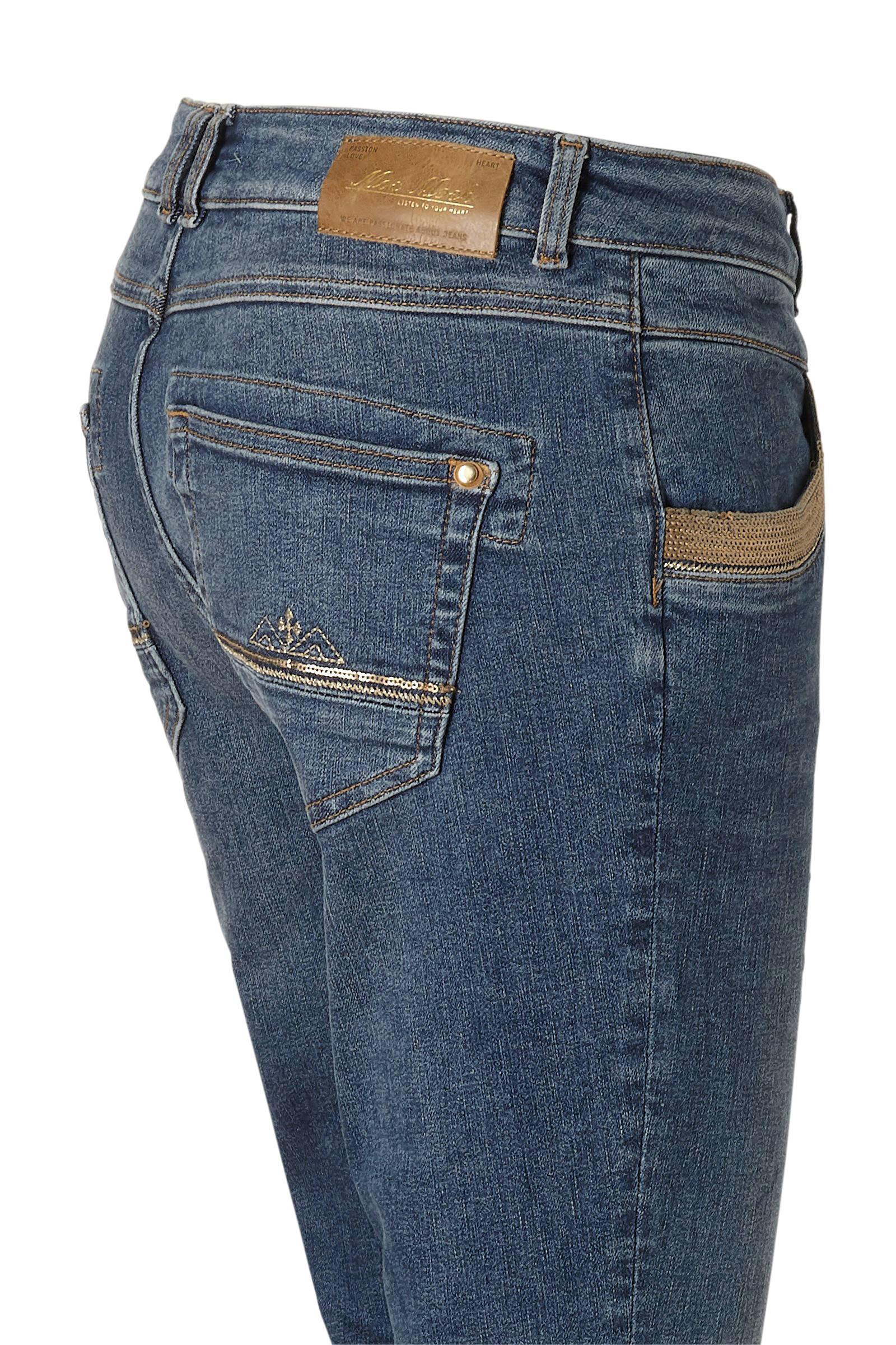 Mos Mosh regular fit jeans blue denim