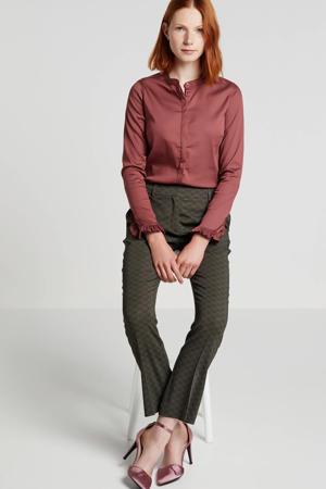 blouse met volant