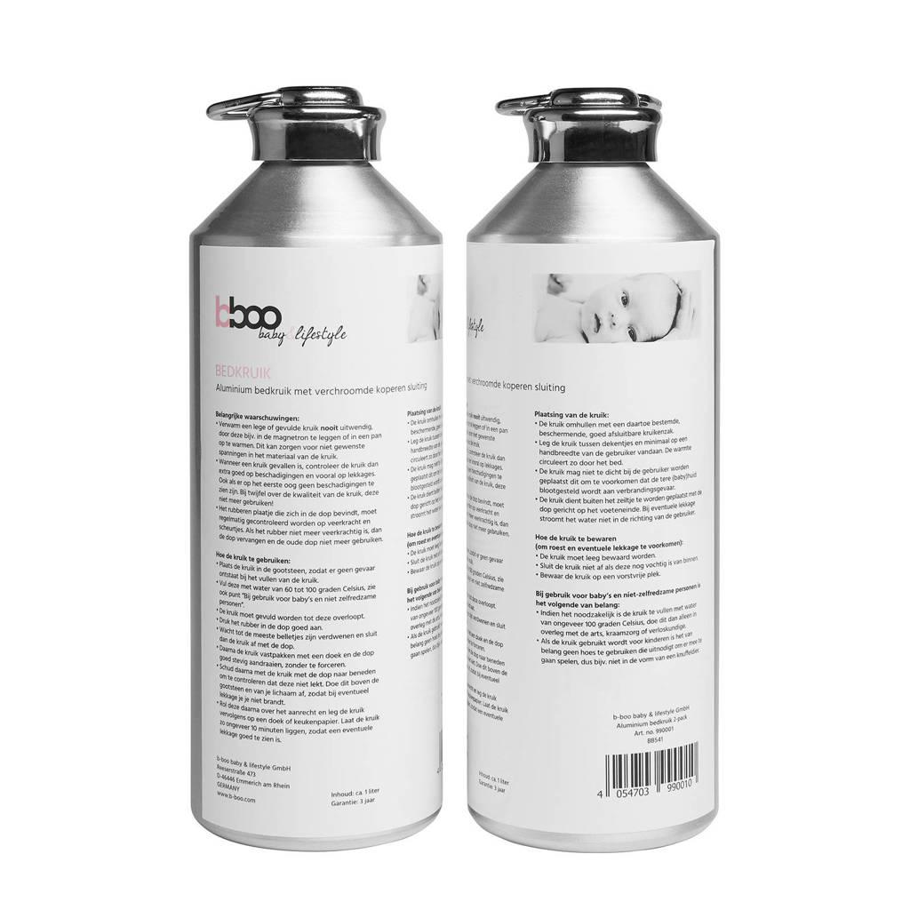 Meyco aluminium bedkruik - set van 2