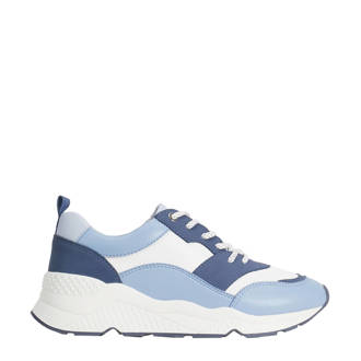 online store c4a16 516ad sneakers blauwwit
