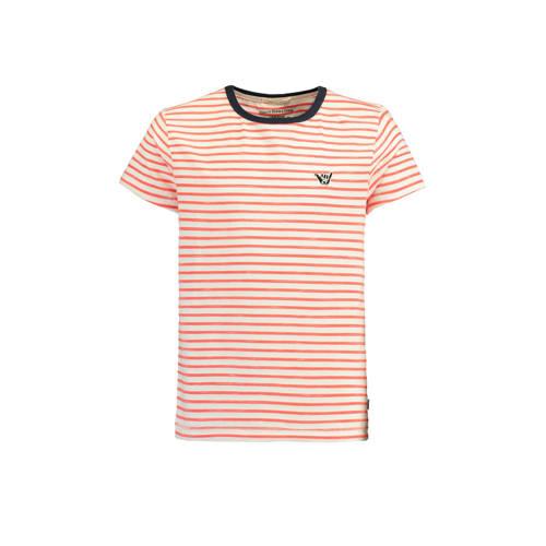 America Today Junior gestreept T-shirt Elias rood kopen