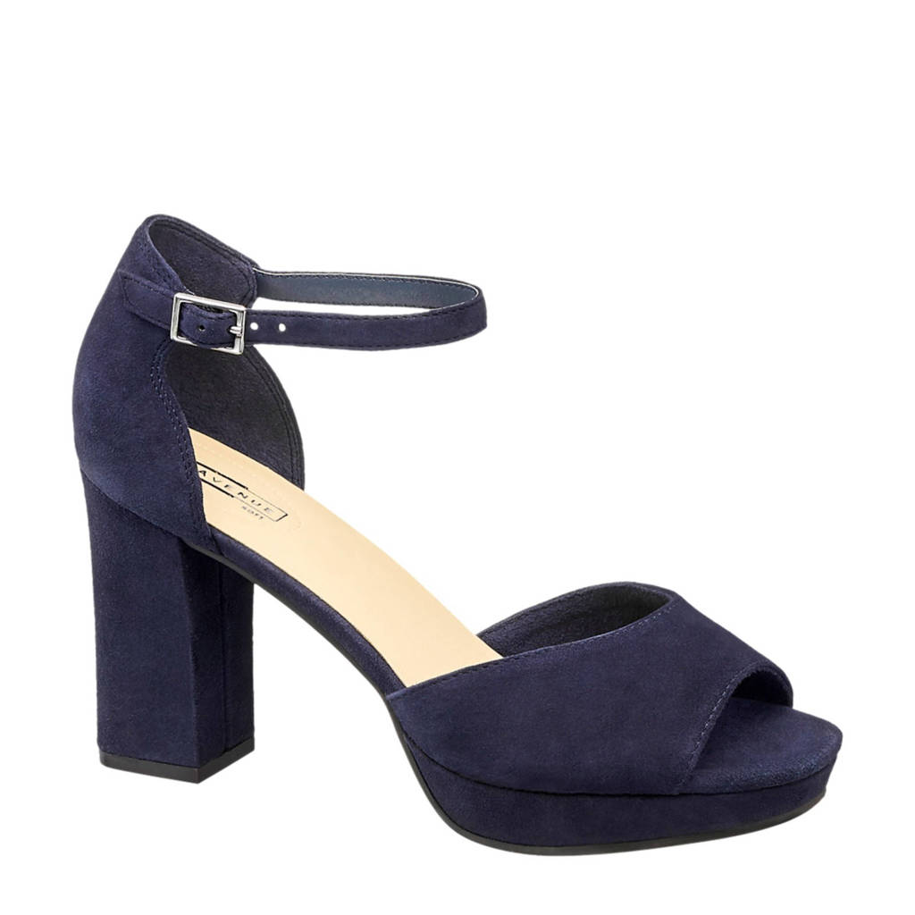 5th Avenue sandaal blauw, Blauw