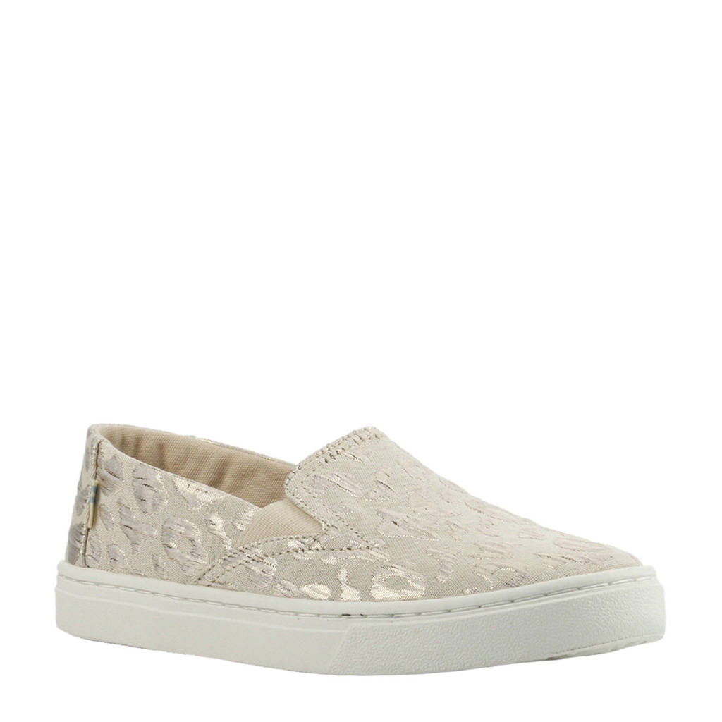 Toms   Luca Youth instappers beige, Wit