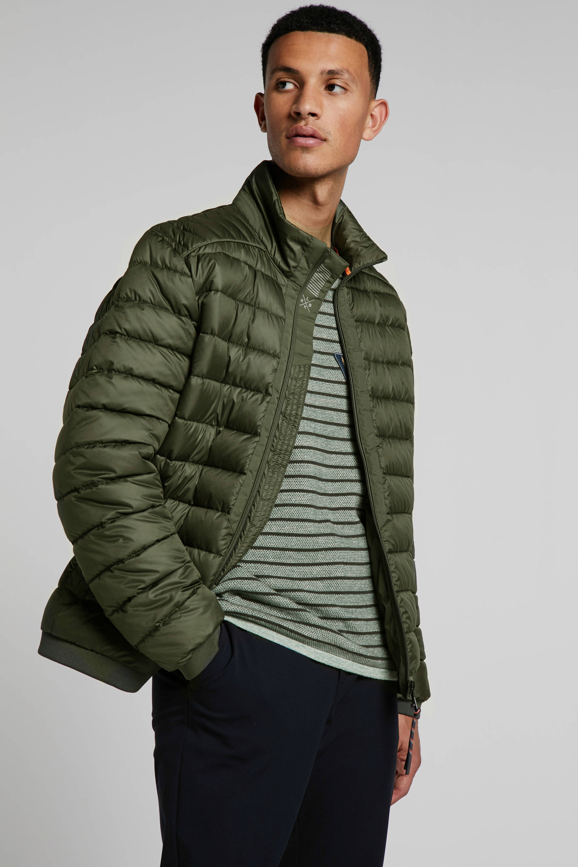 Lerros jas groen   wehkamp
