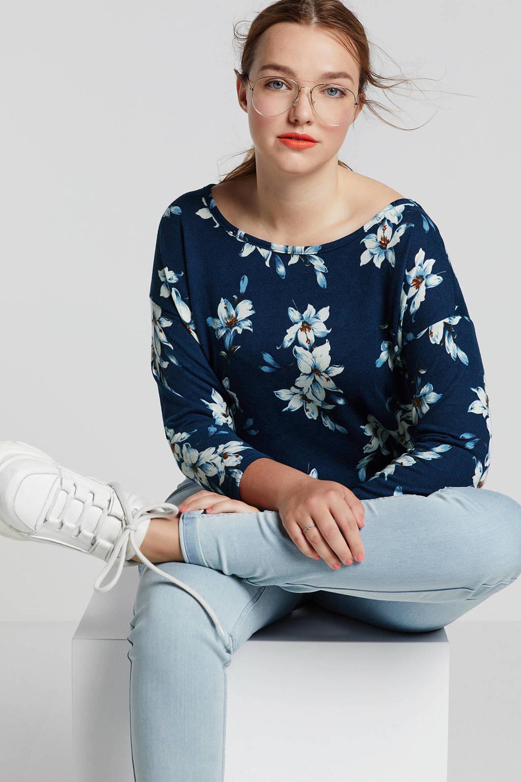 ONLY carmakoma slim fit jeans lichtblauw, Lichtblauw