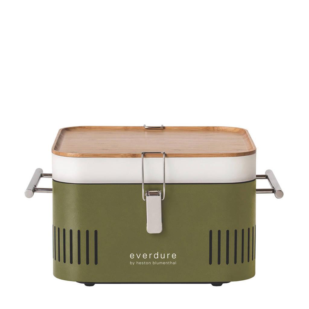 Everdure Cube houtskool barbecue, Groen