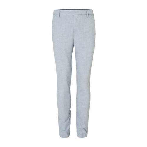 PLAIN slim fit chino grijs