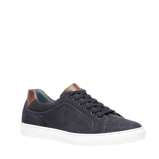 45b6362224c TwoDay suède sneakers donkerblauw