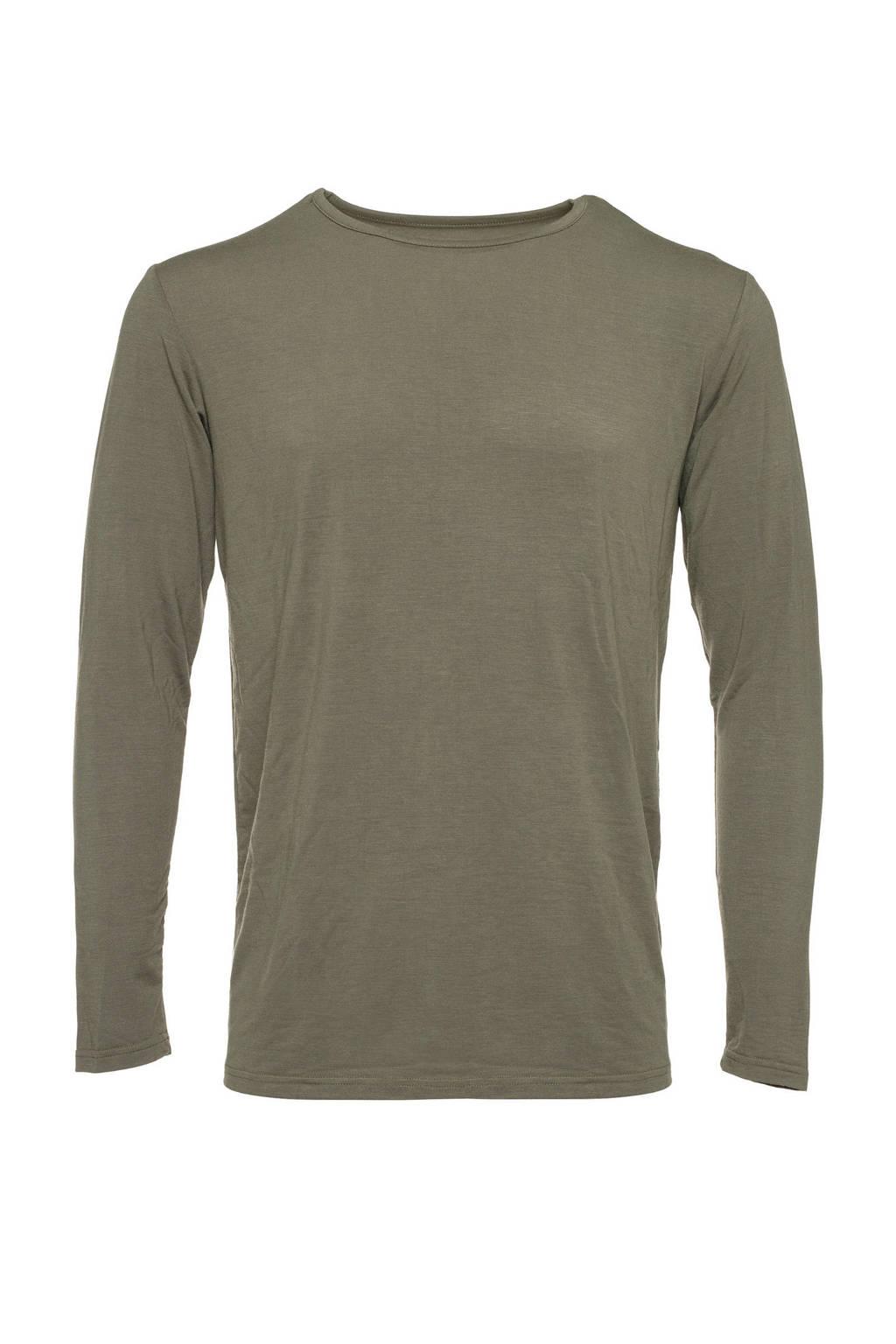 Mountain Peak thermo shirt groen, Groen