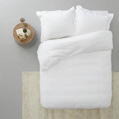 Beddinghouse Ivory Shine Dekbedovertrek White 200 x 220 cm