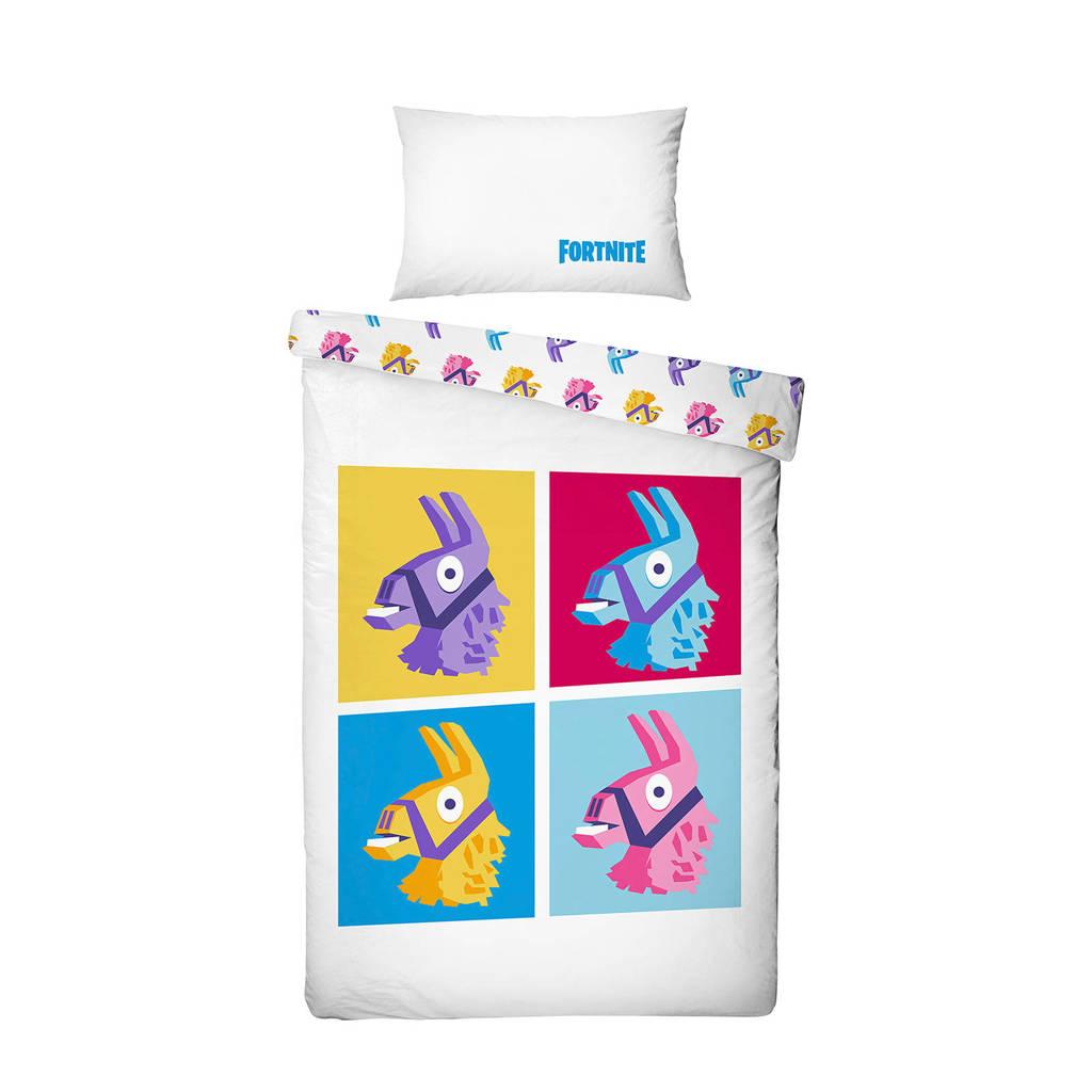 Fortnite katoenen kinderdekbedovertrek, Multicolor