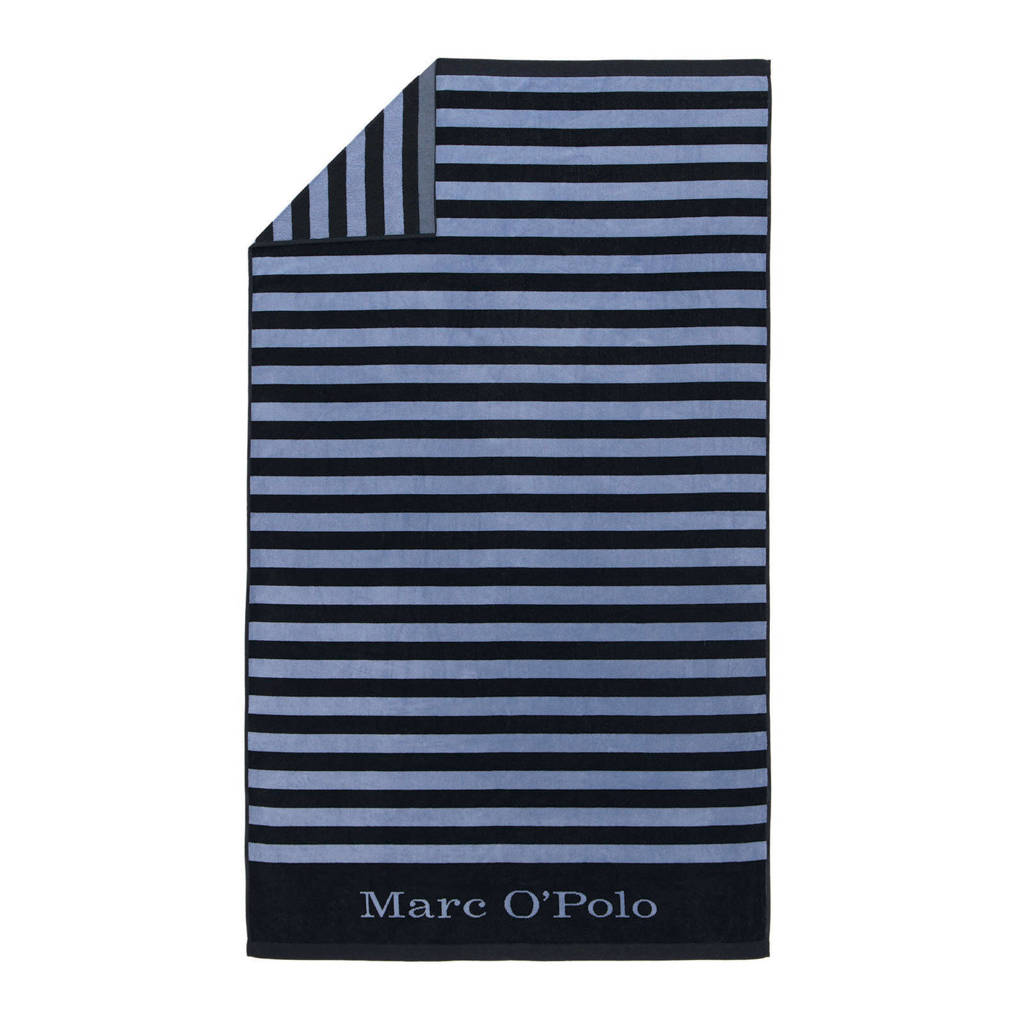 Marc O'Polo strandlaken (100x180 cm), Blauw