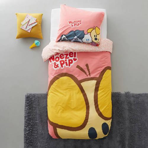 Woezel & Pip katoenen kinderdekbedovertrek kopen