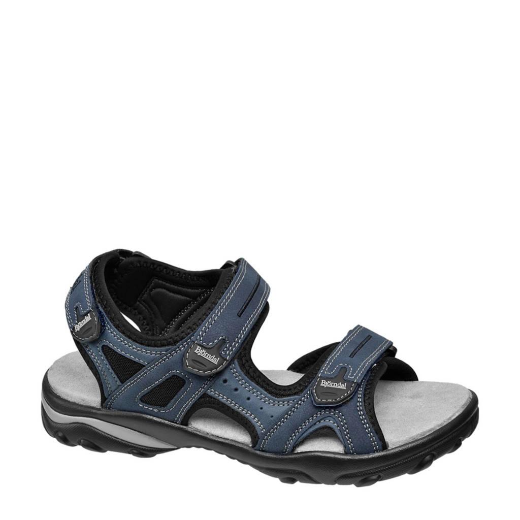 Bjorndal   outdoor sandalen blauw, Blauw