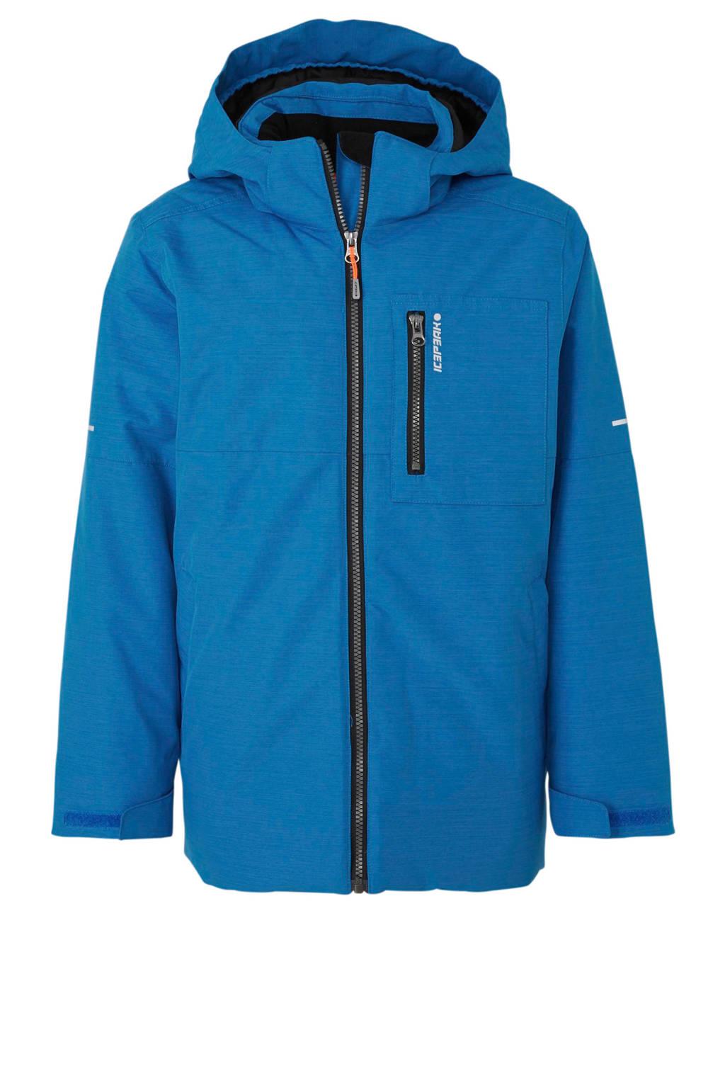 Icepeak winterjas Kennett Jr kobaltblauw, Kobaltblauw