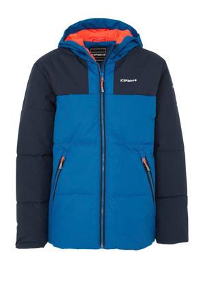 Kaplan jr jas kobaltblauw/donkerblauw
