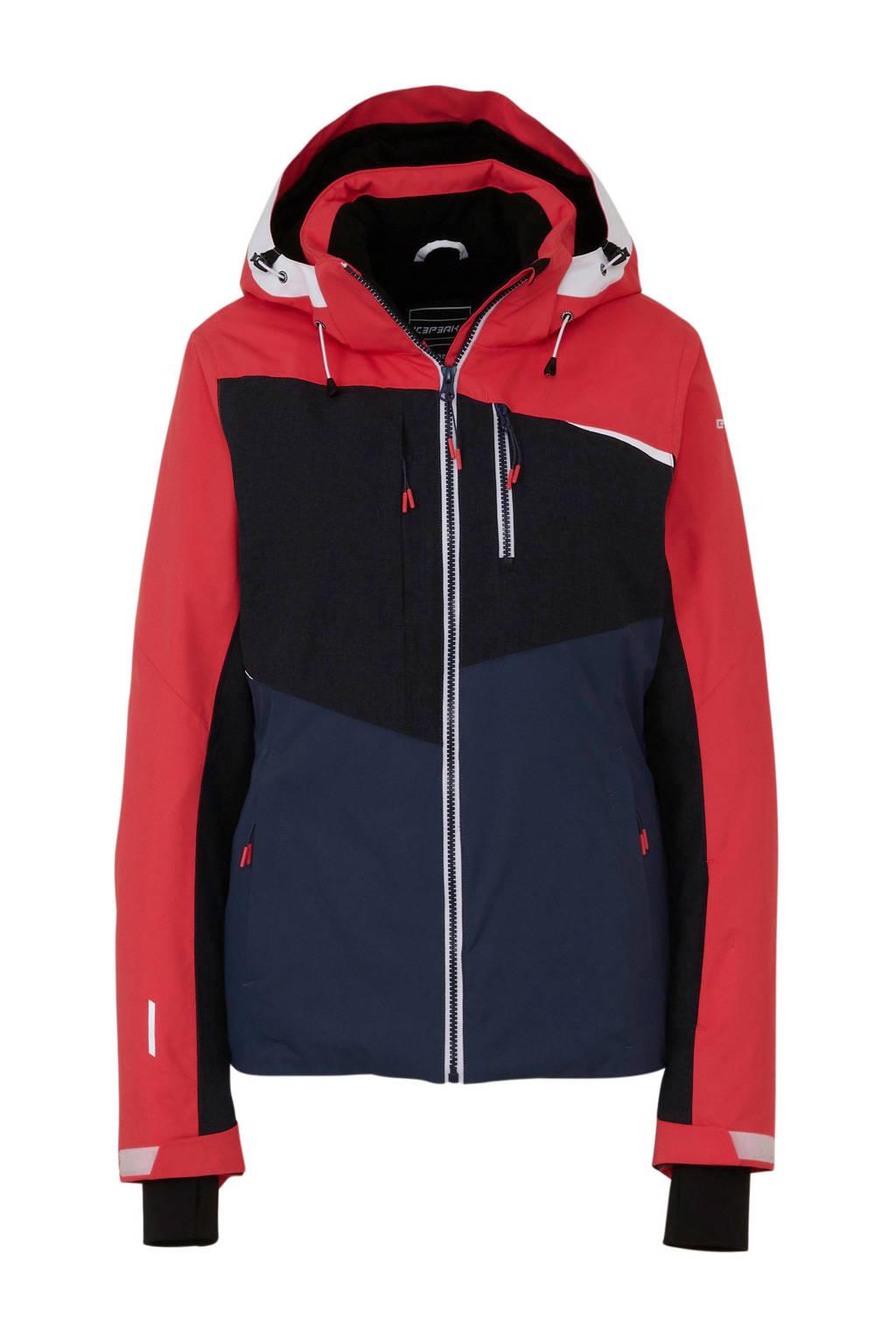 Icepeak ski-jack Calion rood/zwart/antraciet