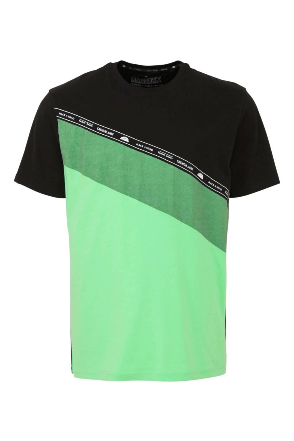 C&A XL Angelo Litrico T-shirt, Zwart/groen