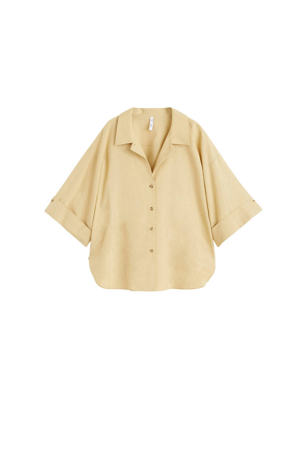 Mango blouse beige, Beige