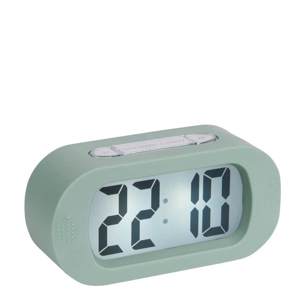 Karlsson alarmklok/wekker Gummy, Groen
