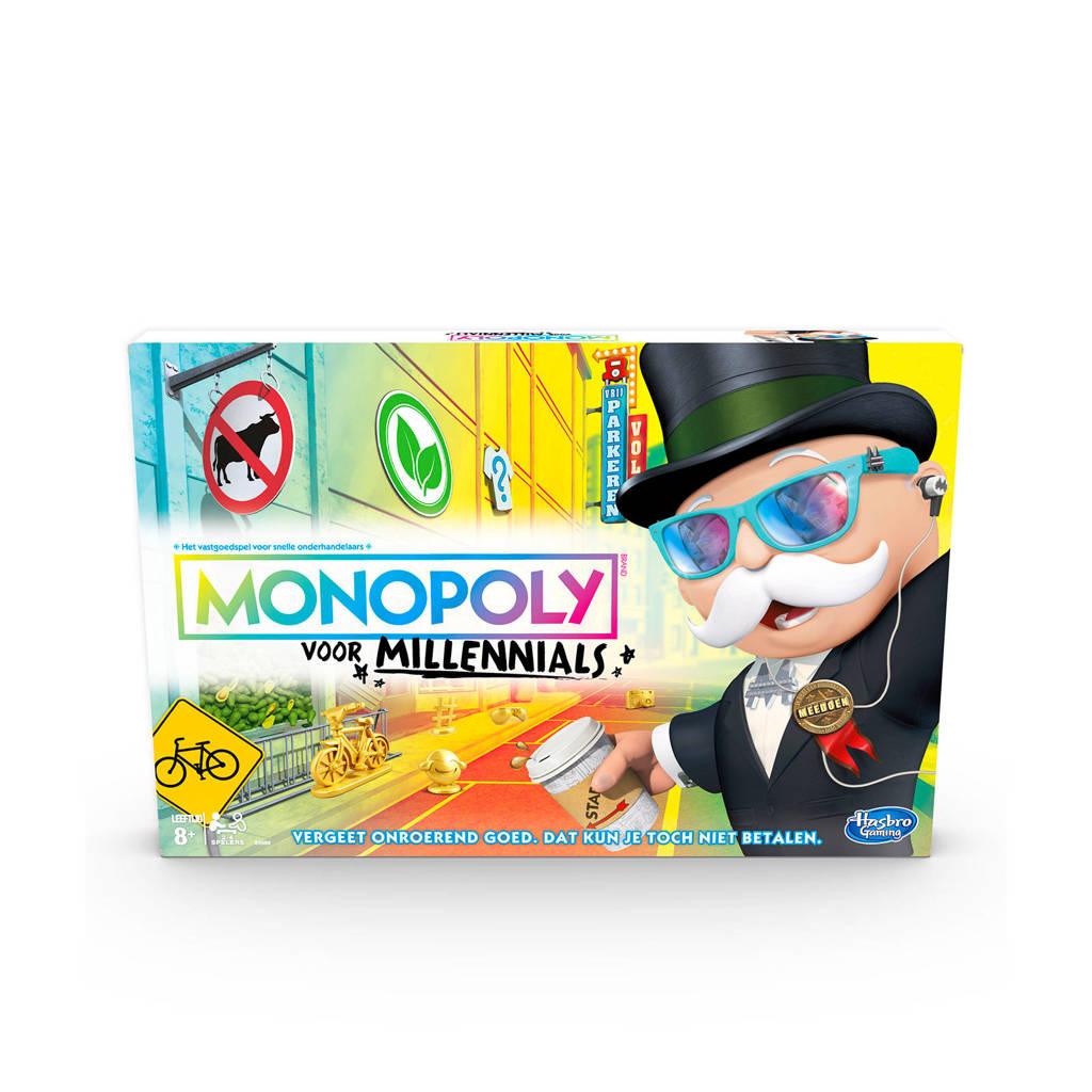 Hasbro Gaming Monopoly Millennial Editie bordspel