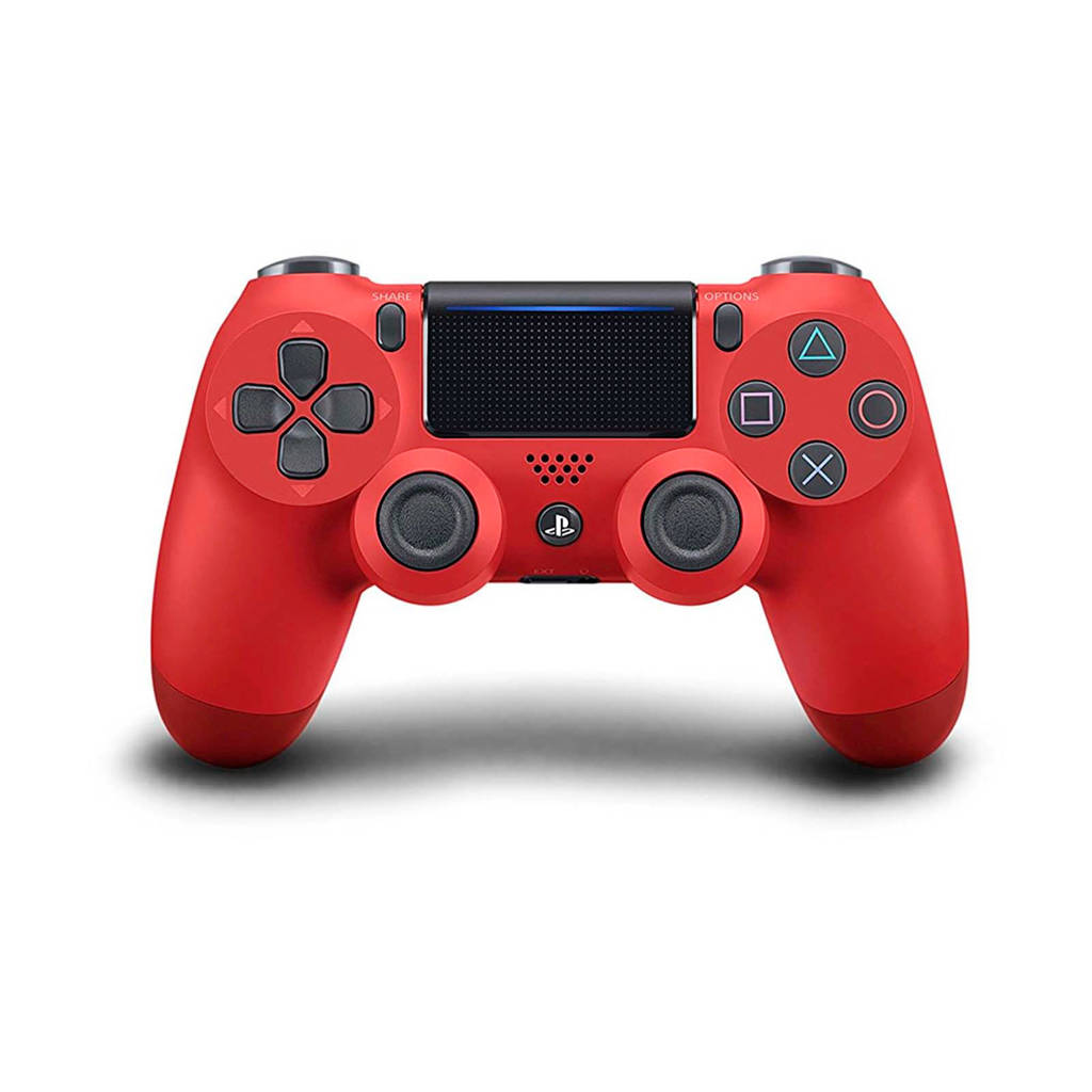 Sony PlayStation 4 DualShock 4 controller v2 rood, Magma red