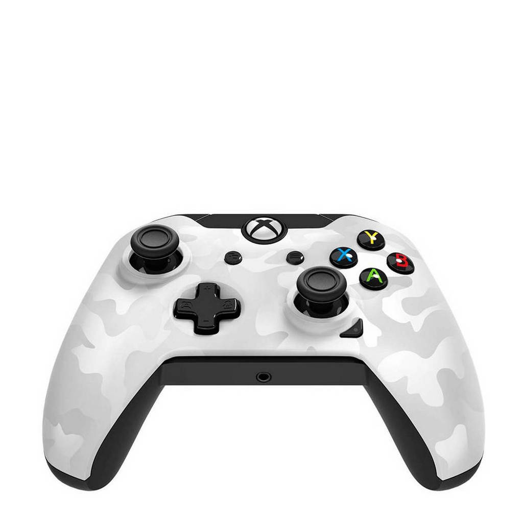 PDP bedrade controller (Xbox One/PC) wit, Wit Camo