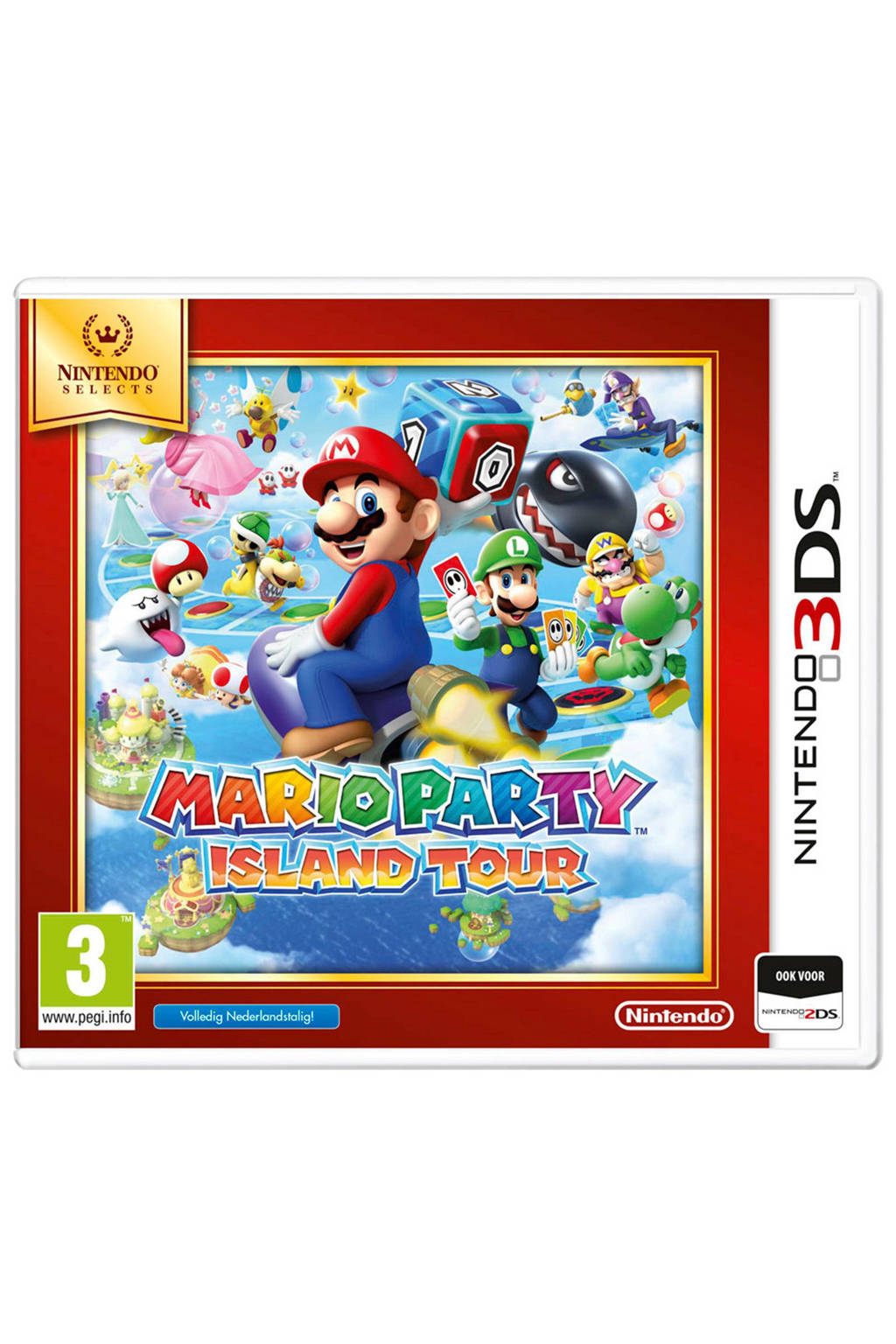 Mario Party Island Tour (Nintendo 3DS), -