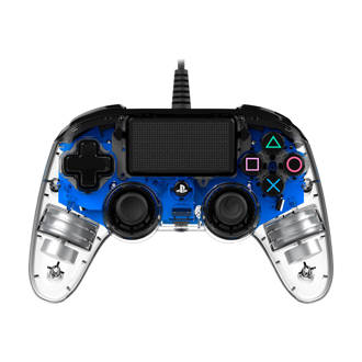 PlayStation 4 official wired compact LED controller blauw