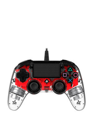 Nacon official wired compact LED controller rood