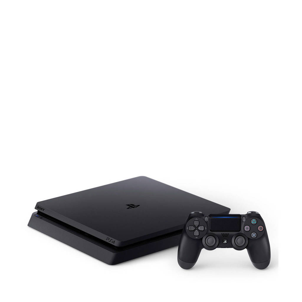 Sony PlayStation 4 Slim 500GB zwart, Zwart