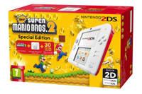 Nintendo 2DS + New Super Mario Bros 2, Wit en rood