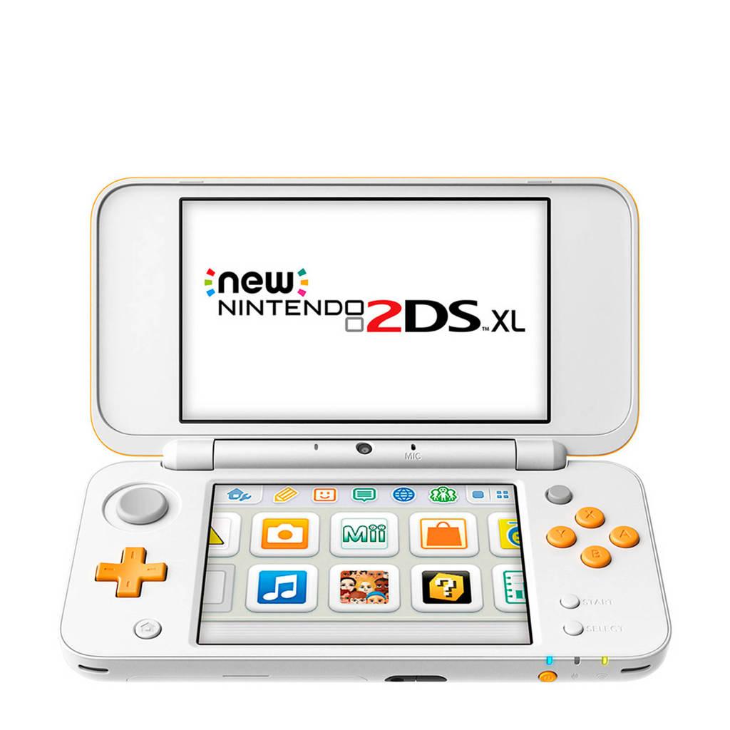 Nintendo 2DS XL - oranje/wit, Oranje/wit