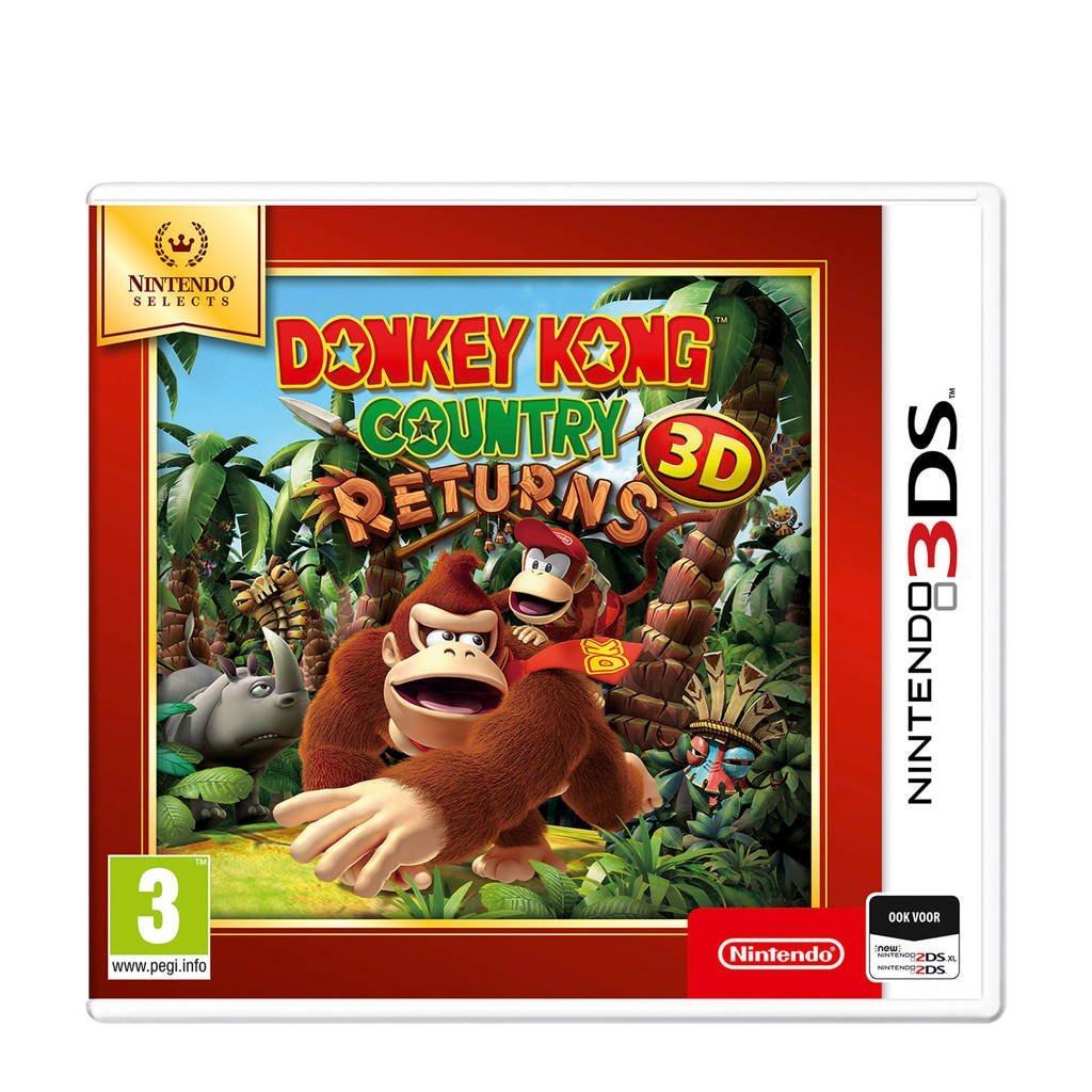 Donkey Kong Country Returns (Nintendo 3DS), -
