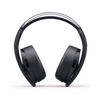 Sony PlayStation 4  platinum draadloze headset, Zwart