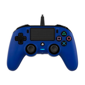 Nacon official wired compact controller blauw