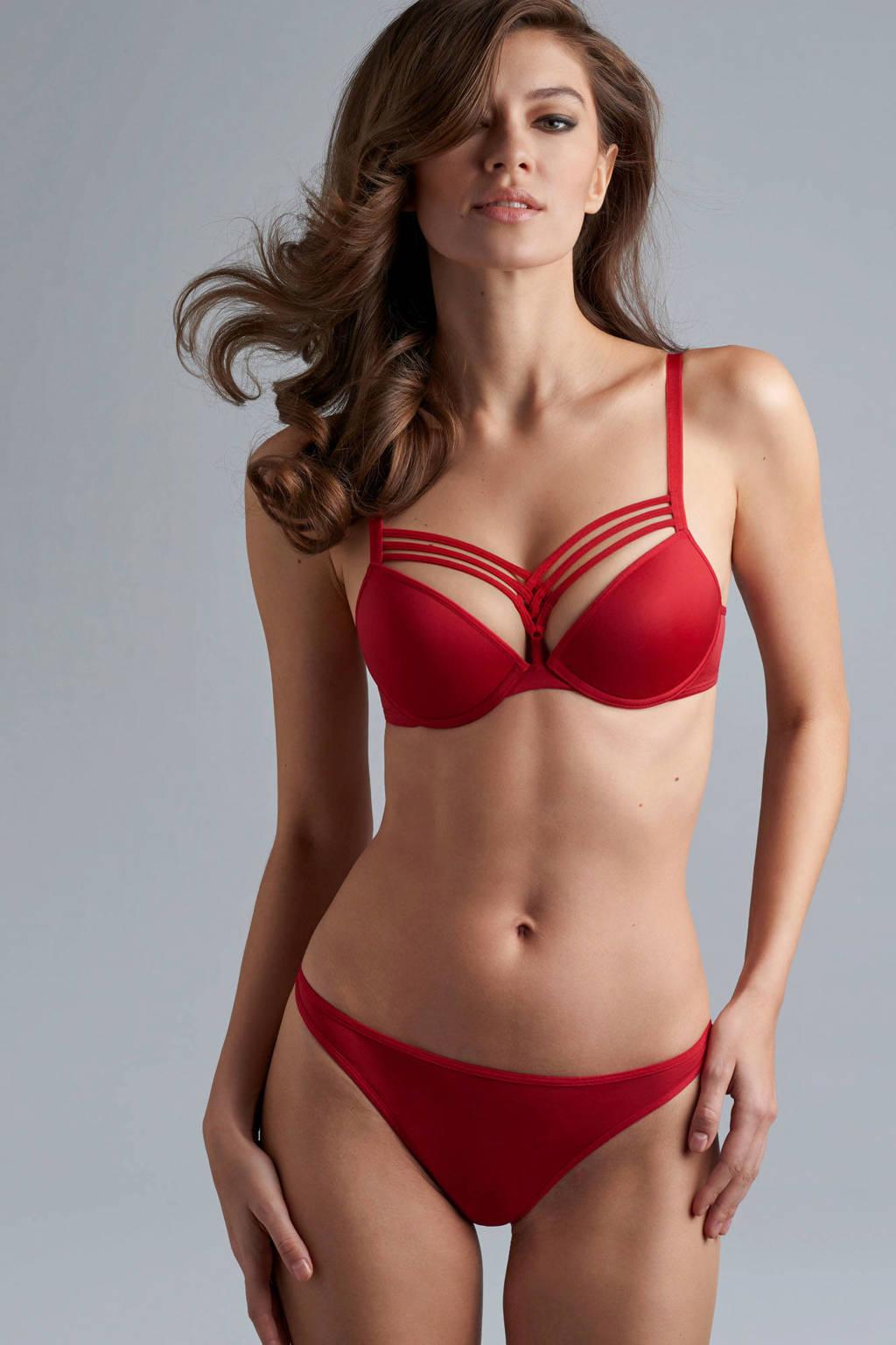 marlies dekkers Signature string Dame de Paris rood, Rood